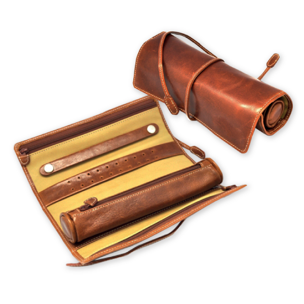 Blair Jewelry Roll Exceptional Leather Jewellery Case